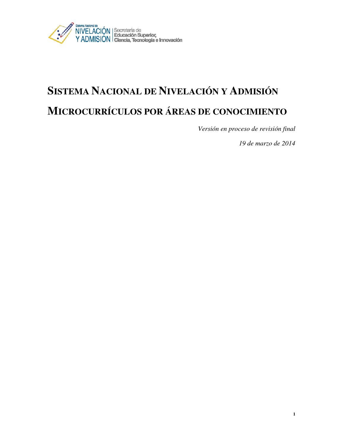 Microcurriculo de anatomia nuevo by Oscar Carpio - issuu