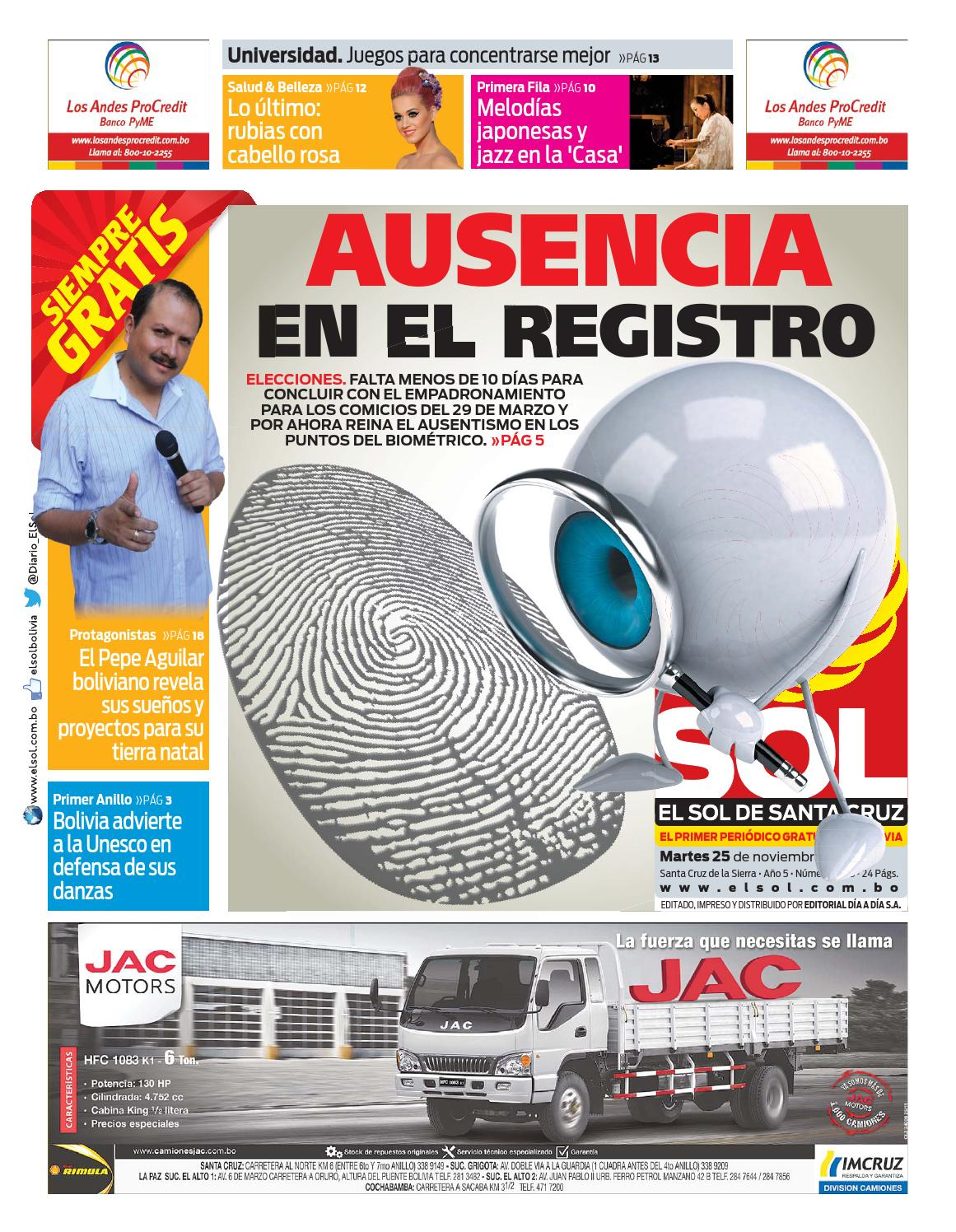 El Sol 25-11-14 by El Dia - issuu