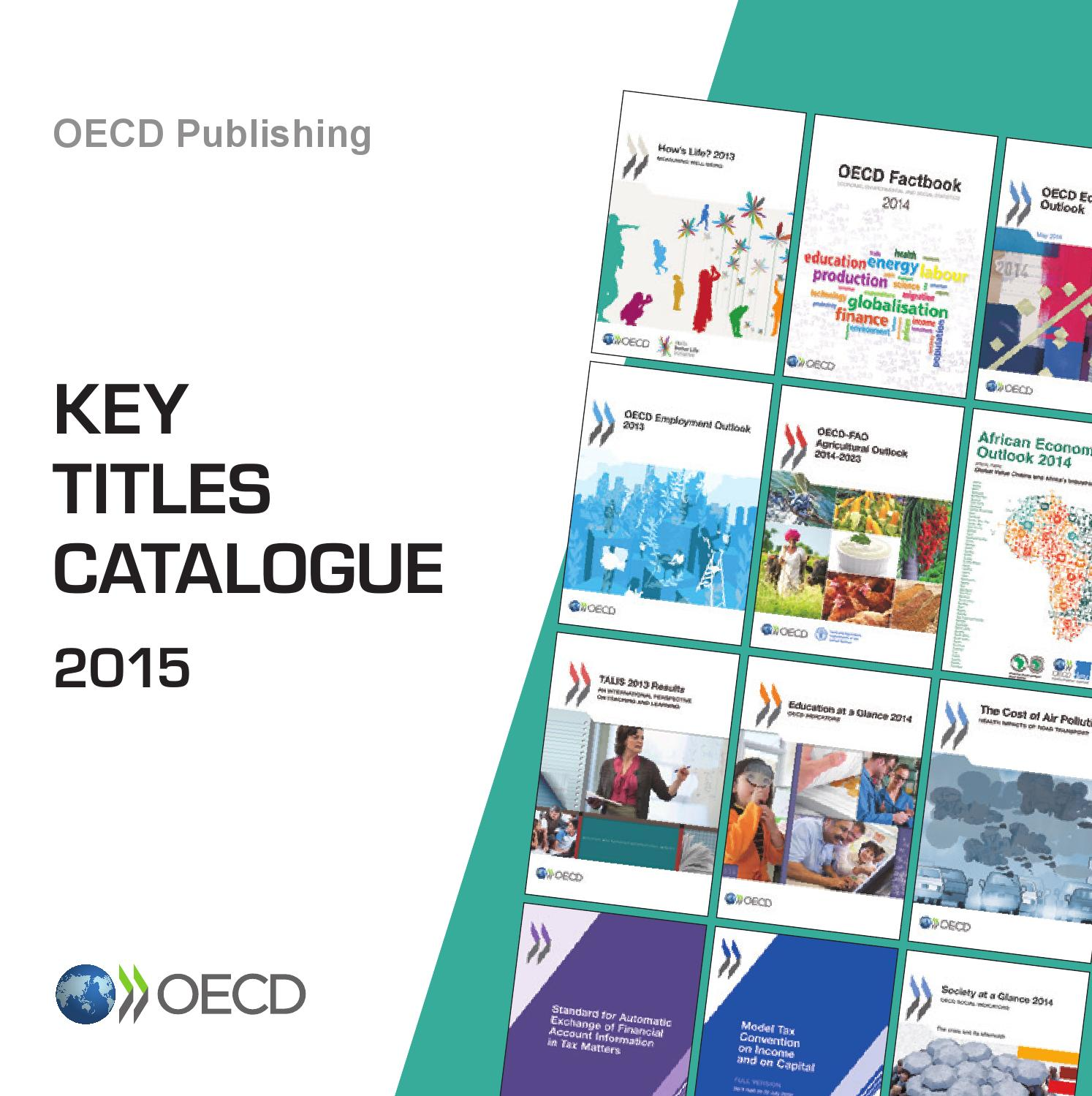 OECD Key Titles Catalogue 2015 by OECD - issuu