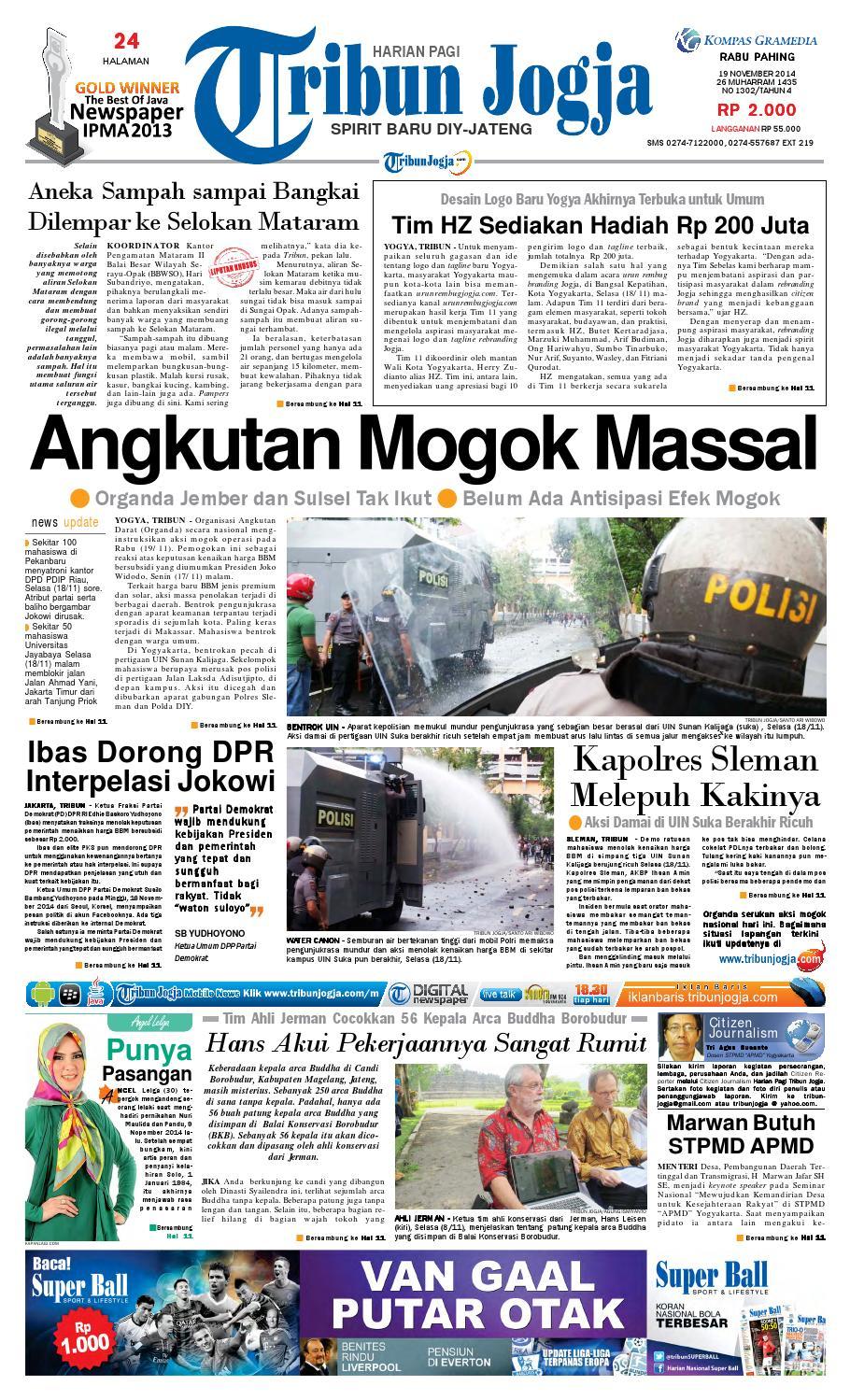Tribunjogja 19 11 2014 By Tribun Jogja Issuu Tcash Vaganza 36 Produk Ukm Bumn Batik Print Motif3