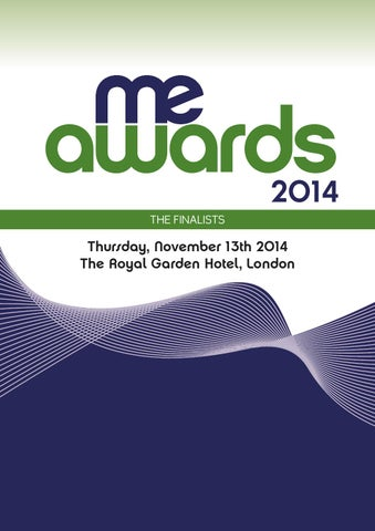 Me awards supp 2014 final web by Future PLC - issuu