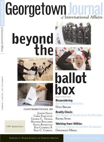 GJIA - 6 2 Beyond the Ballot Box by GJIA (Georgetown Journal