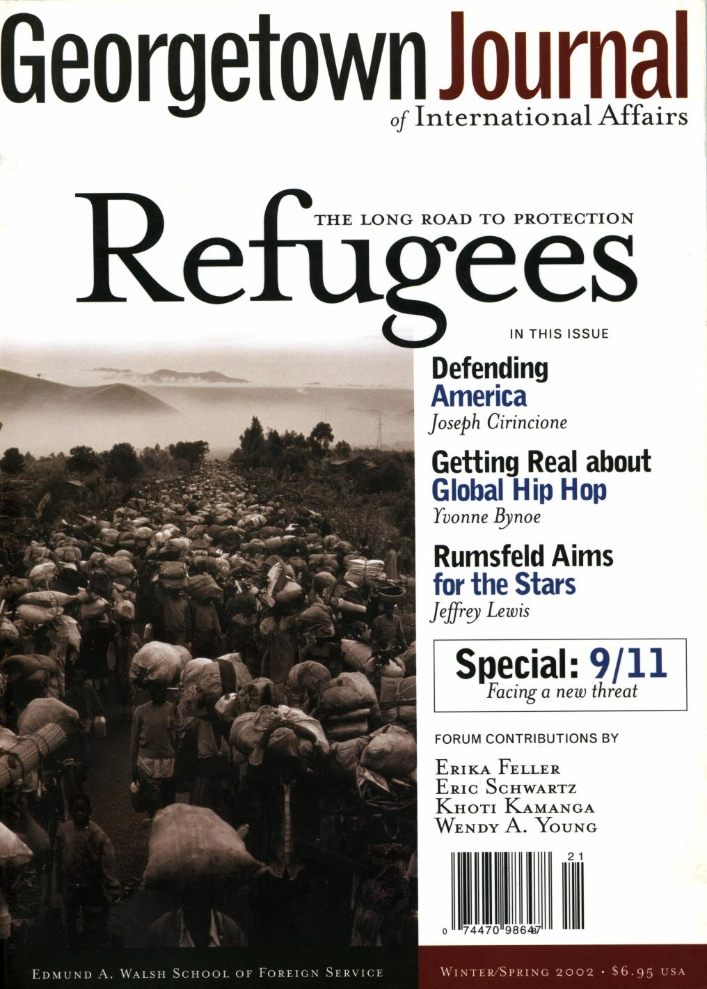 sample resignation letter 1 month notice%0A GJIA      Refugees by GJIA  Georgetown Journal of International Affairs    issuu