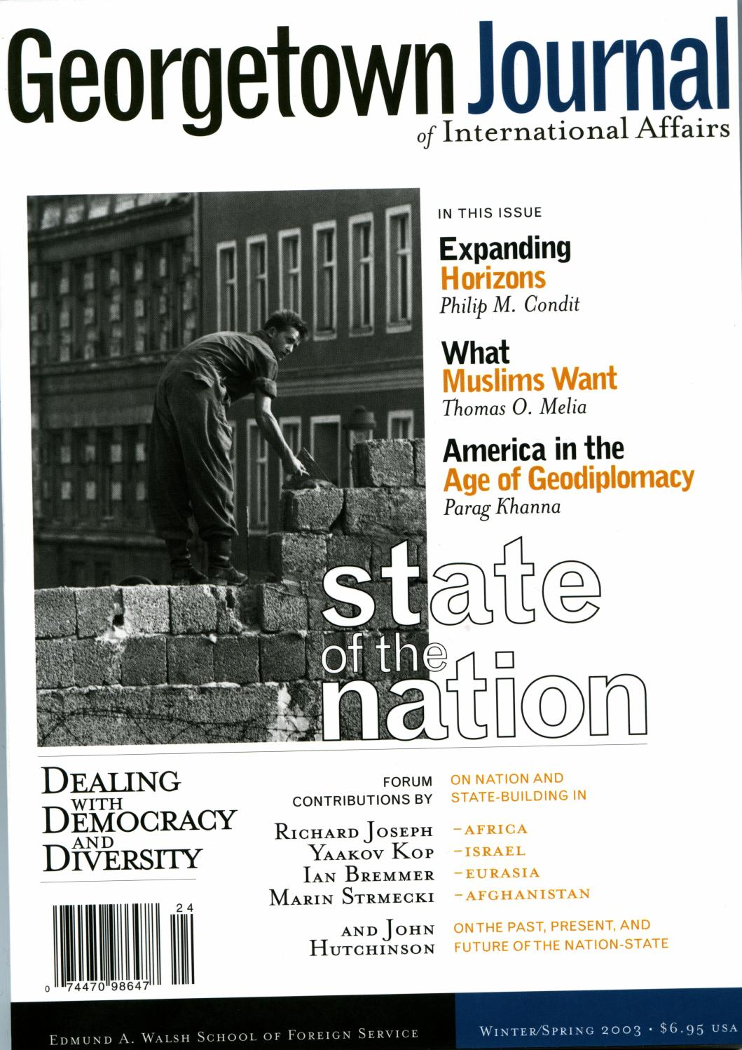 GJIA - 4.1 State of the Nation by GJIA (Georgetown Journal of ...