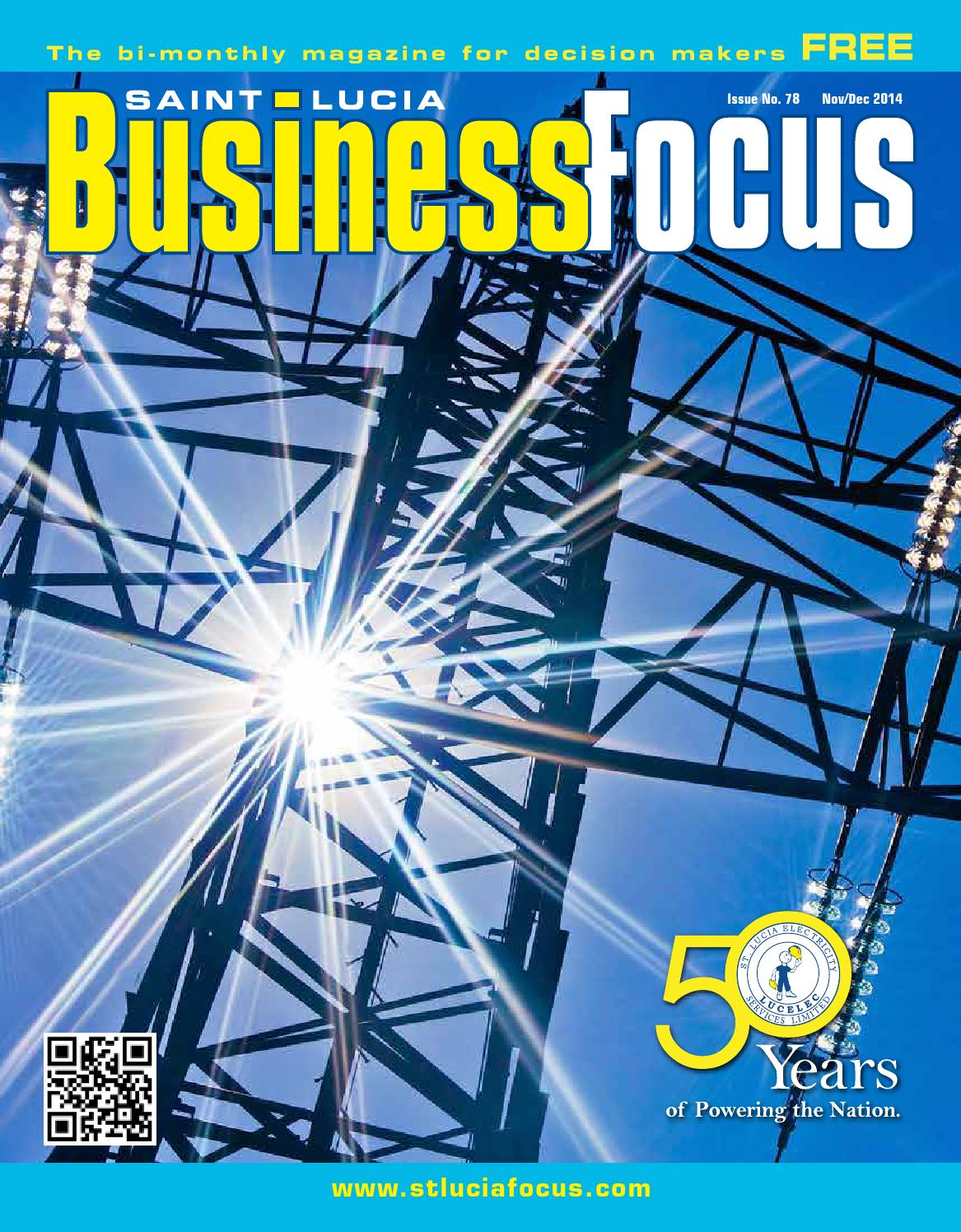 St lucia business focus 78 by ams st lucia issuu malvernweather Gallery