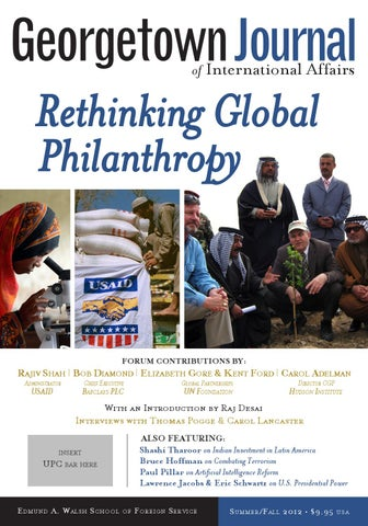 GJIA - 13 2 Rethinking Global Philanthropy by GJIA