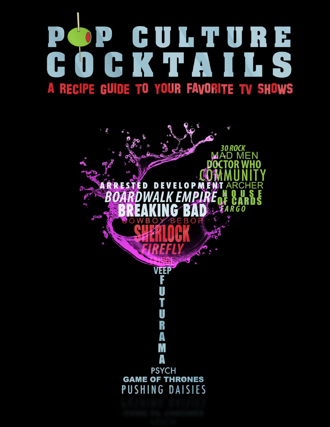 pop culture cocktails sarah sommer pdf
