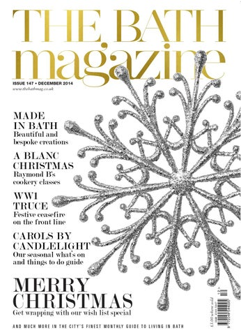 The Bath Magazine December 2014 By MC Publishing