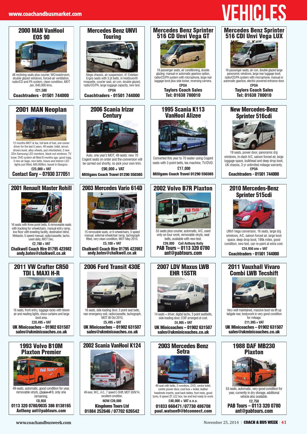 Coach & Bus Week : Issue 1165 by Coach and Bus Week & Group Travel