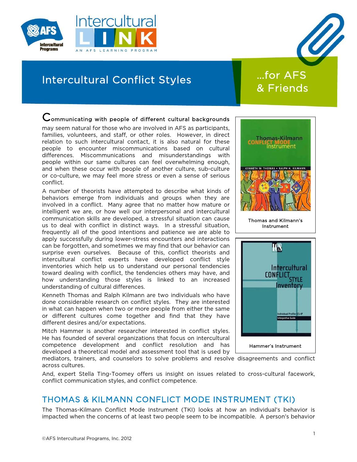 conflict and communication styles within families Learn 5 effective communication styles to use within your family to improve communication skills and strengthen  while conflict is inevitable in all families,.