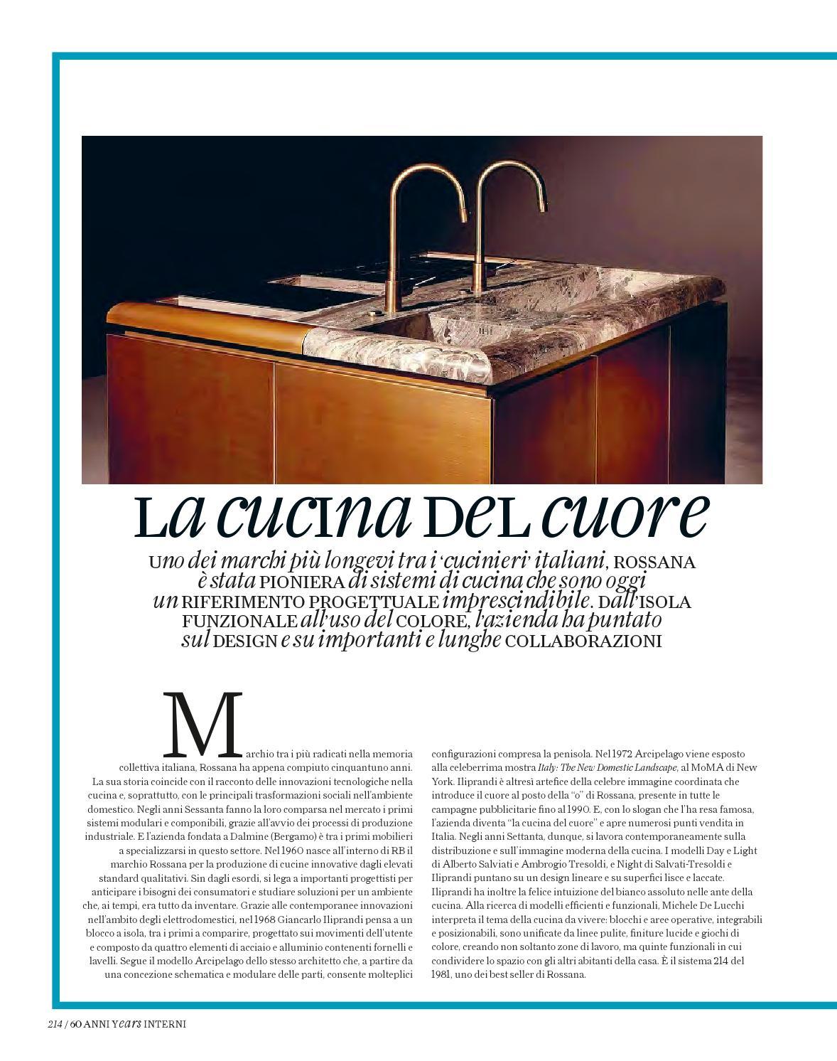 Interni Speciale 60anni By Interni Magazine Issuu
