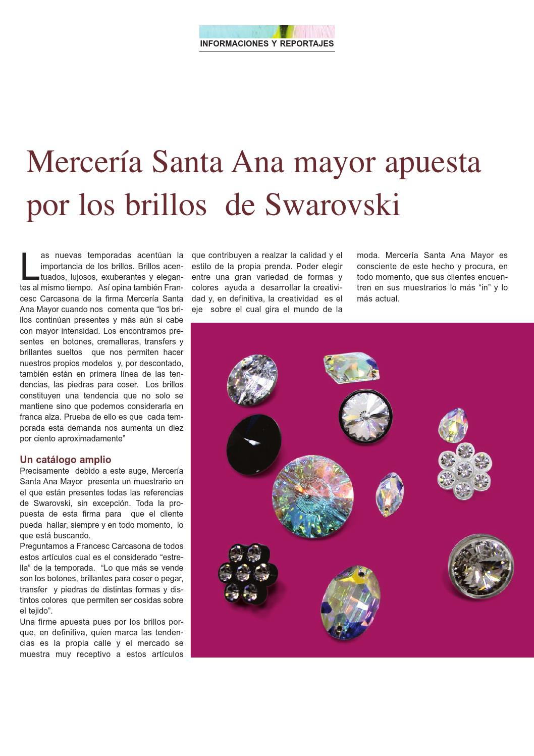 Mercería Actualidad 67 Haberdashery Products And Handicrafts By Prensa Técnica S L Issuu
