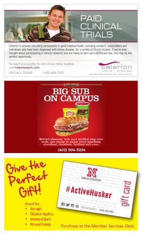 UNL Campus Recreation Spring Guide 2015 by UNLCampusRec - issuu