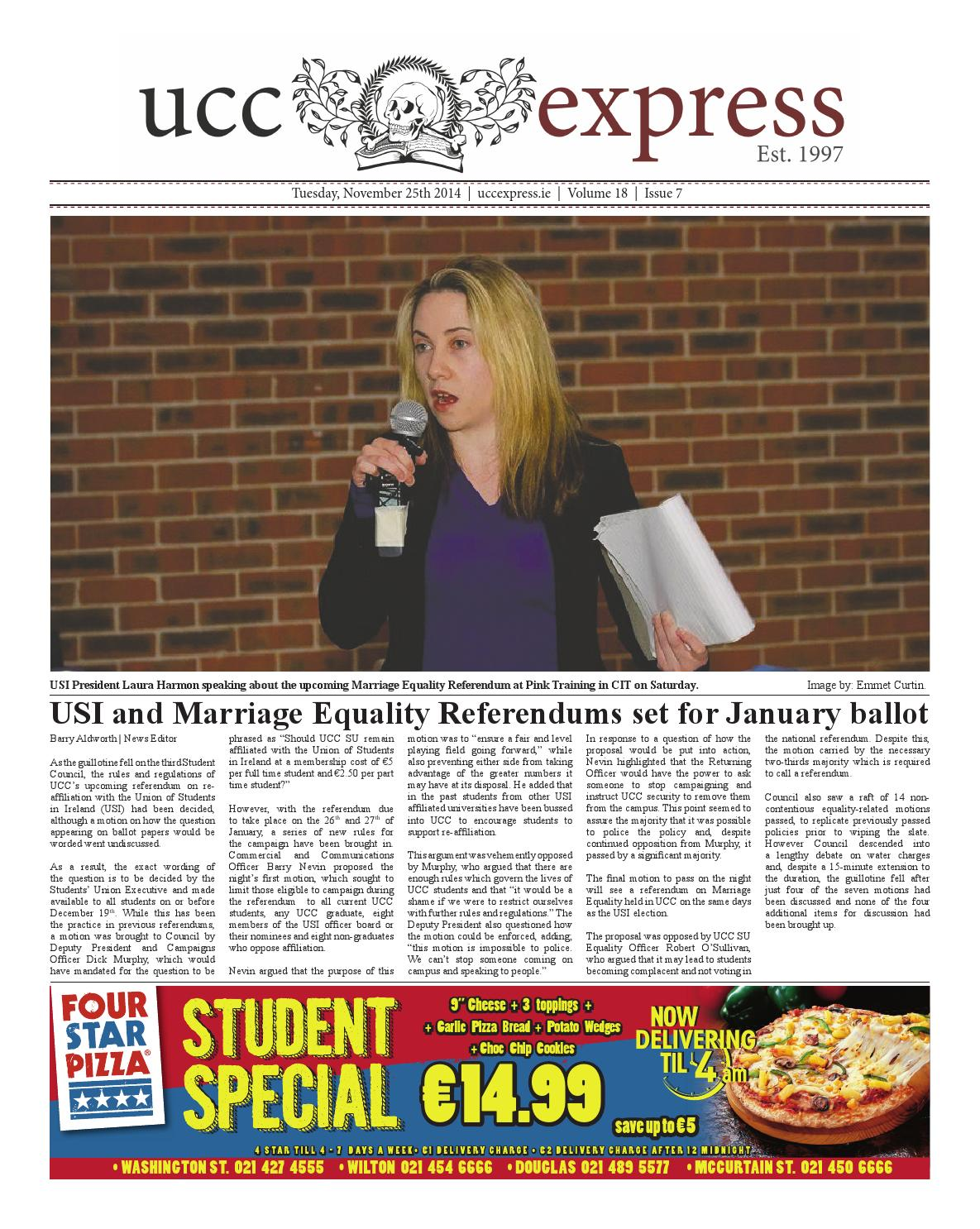Ucc Express Issue 7 By University Express Issuu