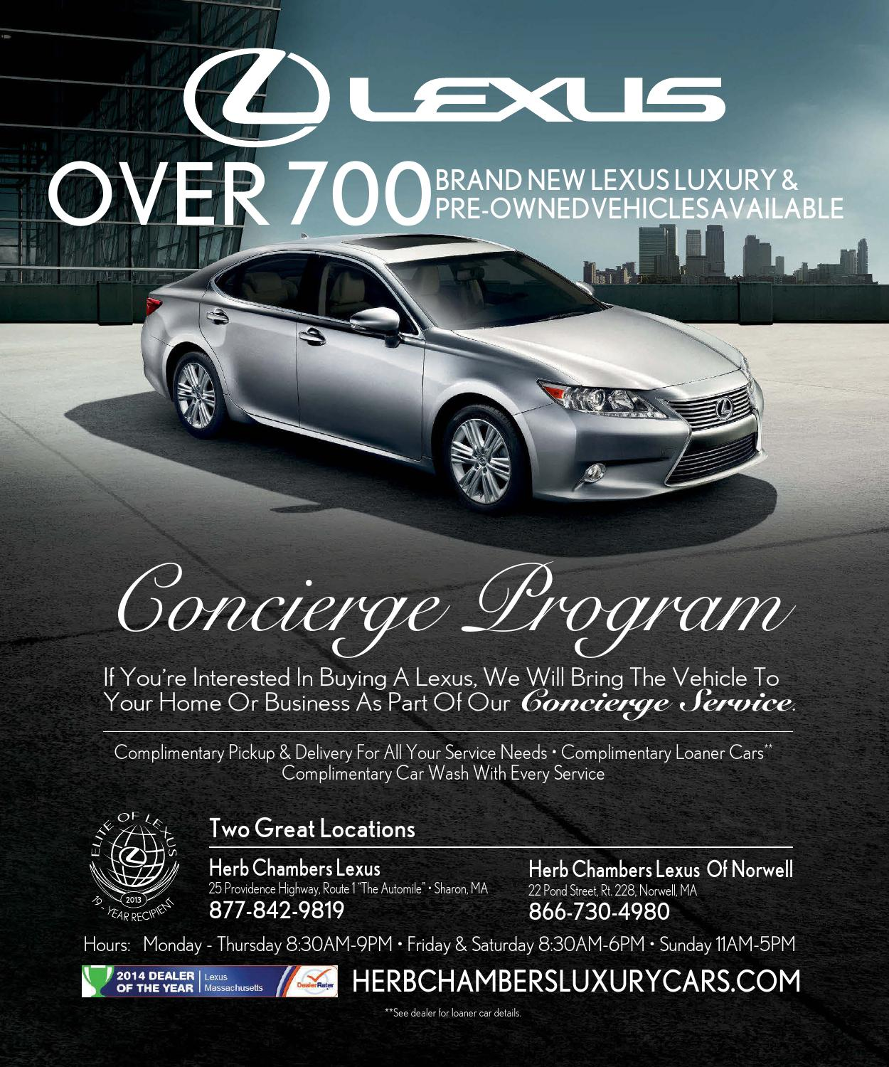 Lexus Dealers In Ma >> Boston Common 2014 Issue 5 Late Fall By Niche Media