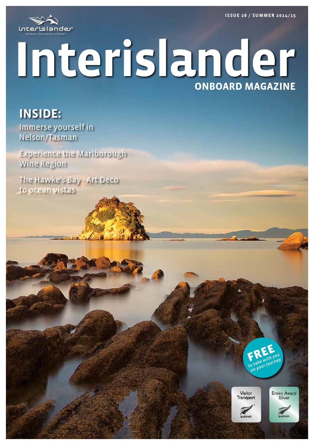 Interislander Magazine Issue 26 Summer 2014 15 By Inflightpublishing Issuu