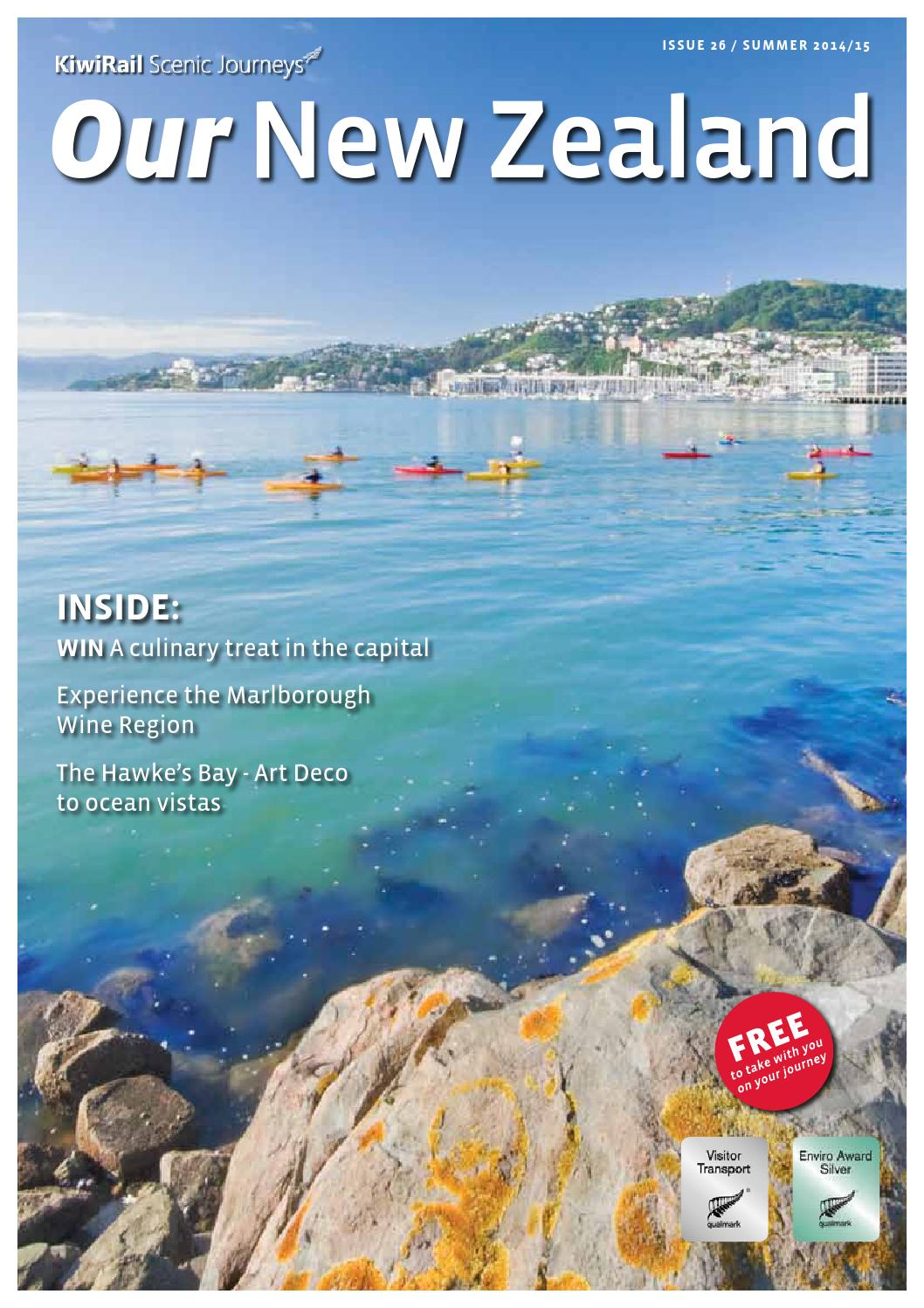 Kiwirail Scenic Journeys Our New Zealand Issue 26 Summer 2014 15 By Inflightpublishing Issuu
