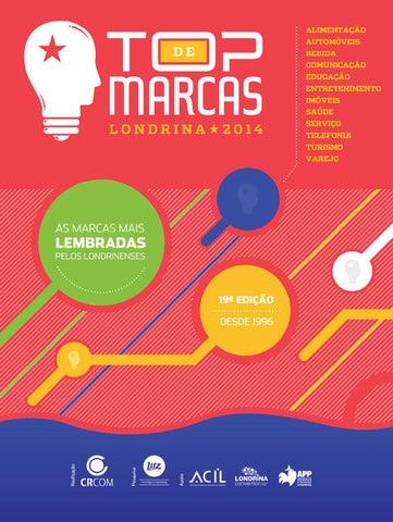 22cfe902bd9fa Top de Marcas 2014 by CRCOM Comunicação Empresarial - issuu
