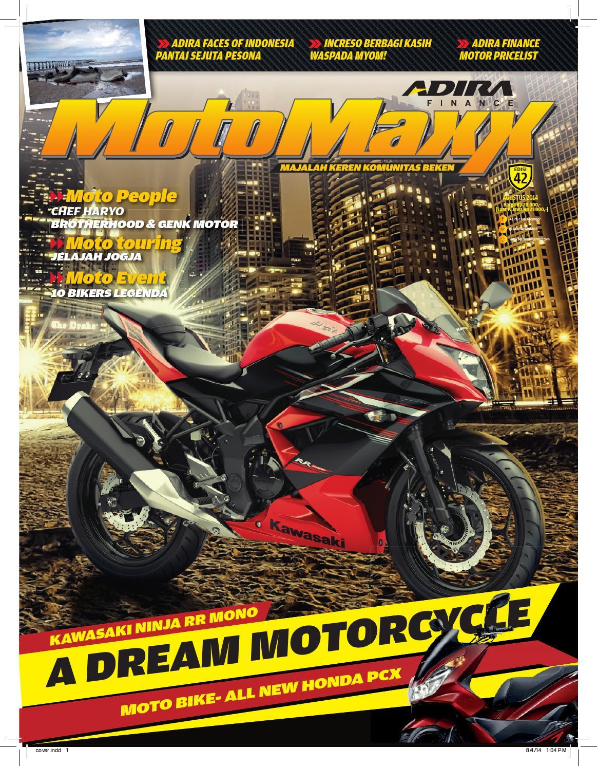 Motomaxx 08 2014 By Adira Member Issuu All New Cbr 150r Slick Black White Depok