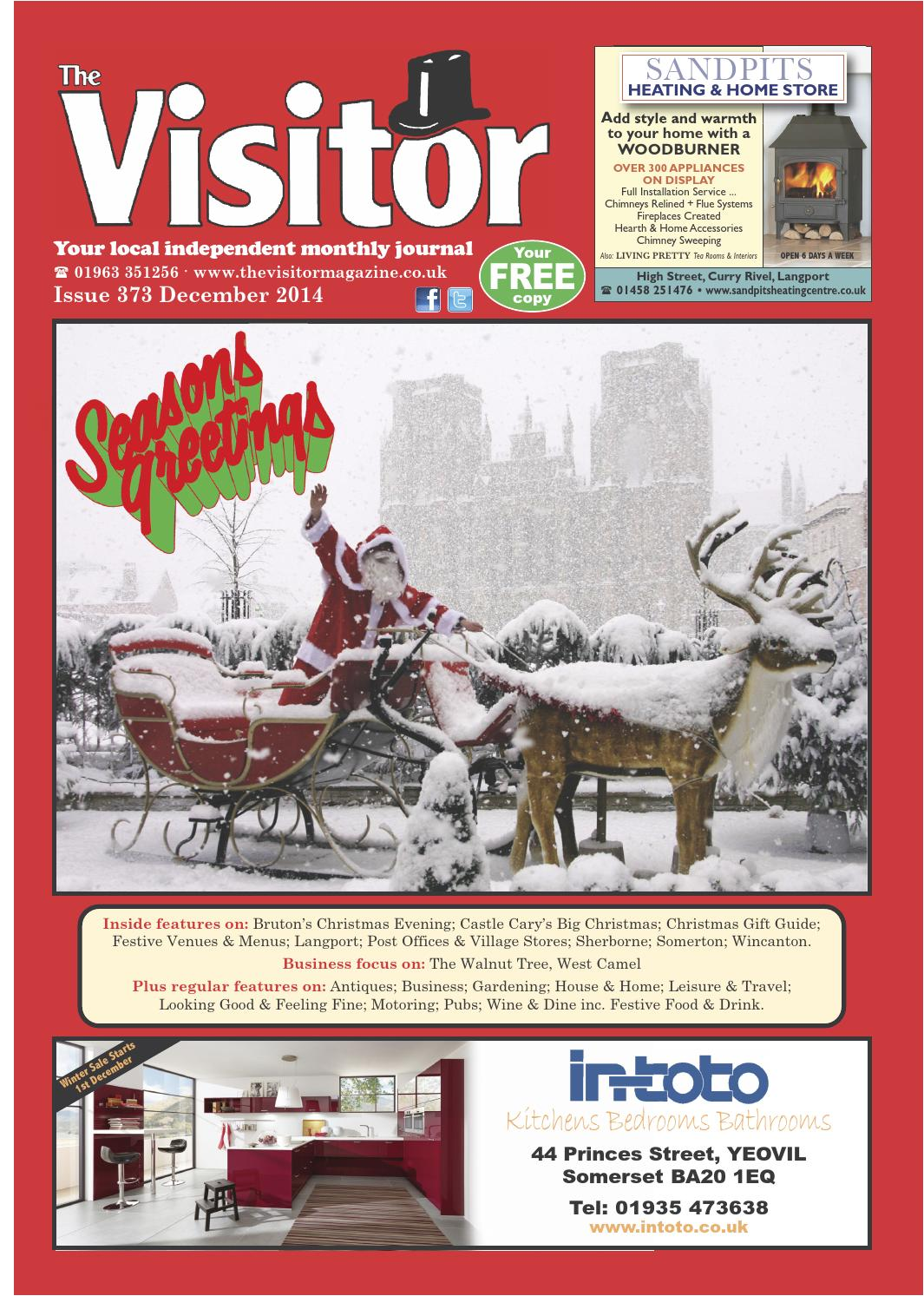 foto de The Visitor Magazine Issue 373 December 2014 by The Visitor ...