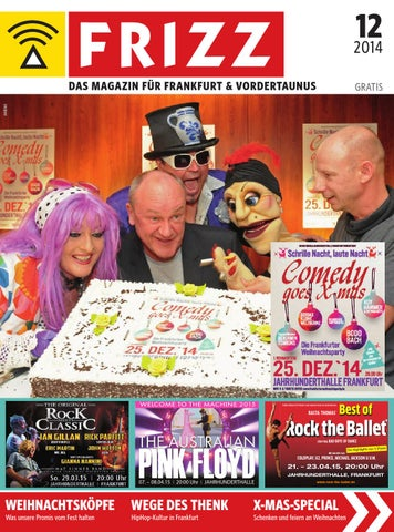 frizz das magazin frankfurt dezember 2014 by frizz frankfurt issuu  Neu Bailey Of Hollywood Nv411 Hut Herren Auf Verkauf P 2112 #13