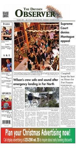 Dryden Observer Nov 26 2014 By Dryden Observer Issuu