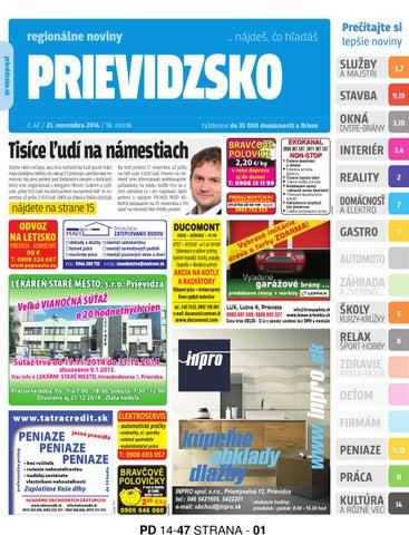 c59bc811a16 Pd14 47 strana by prievidzsko prievidzsko - issuu
