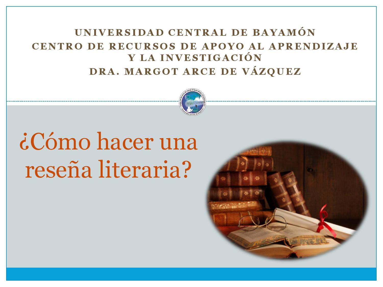 Cómo Hacer Una Resena Literaria By Diana Issuu