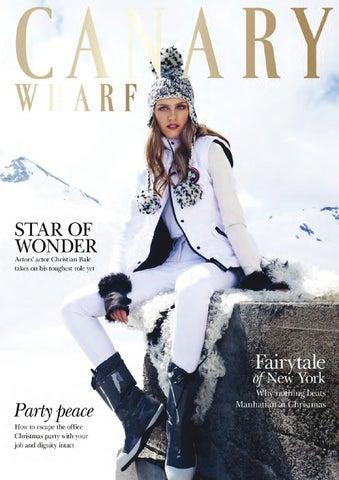 34054729e5d2 Canary Wharf Magazine December 14 by Runwild Media Group - issuu