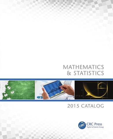 Mathematics & Statistics by CRC Press - issuu