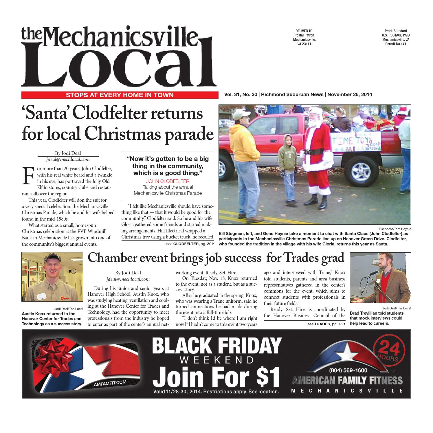 11 26 2014 by The Mechanicsville Local issuu