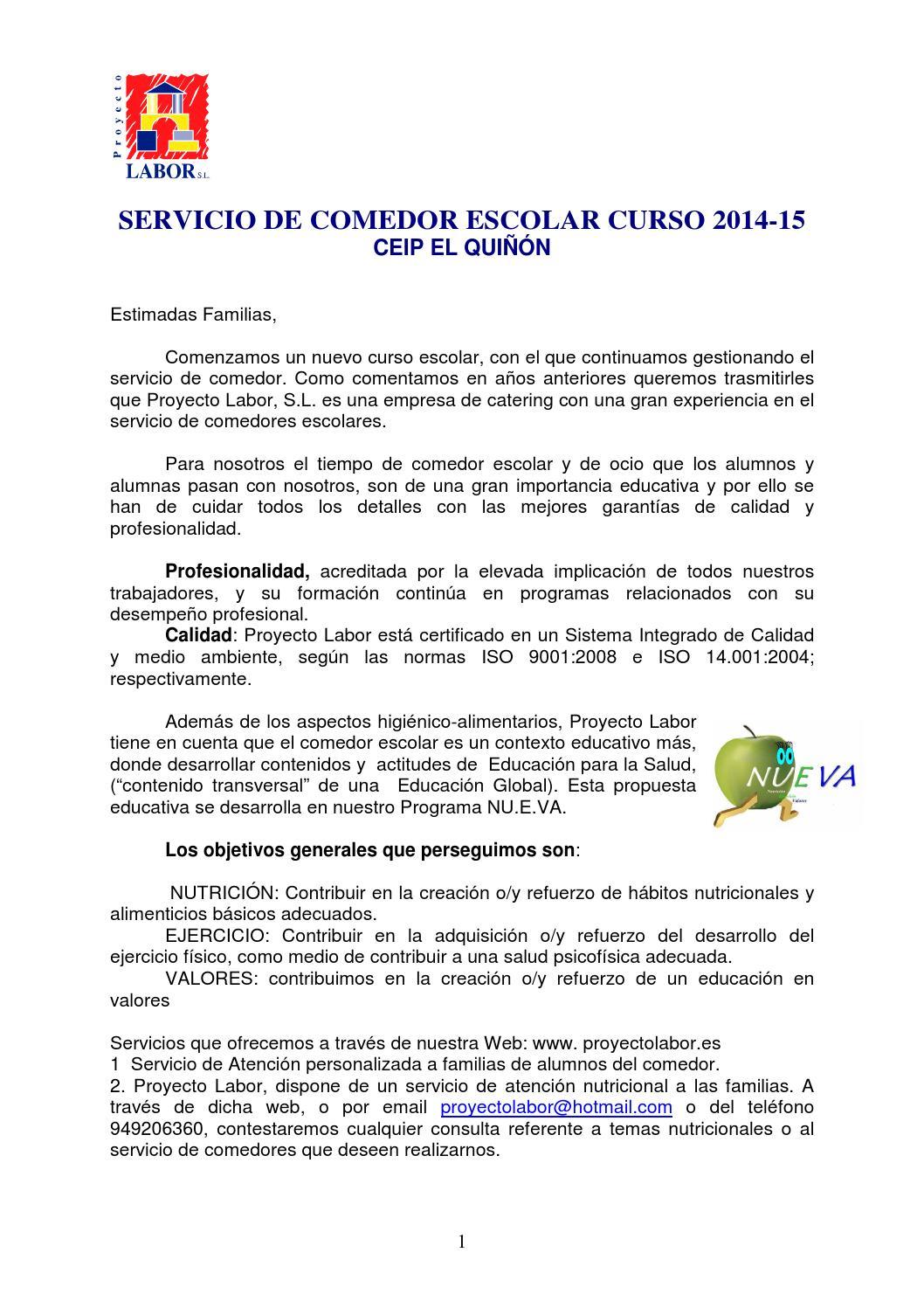 Cartapresentacion by Jose Manuel Salcedo - issuu
