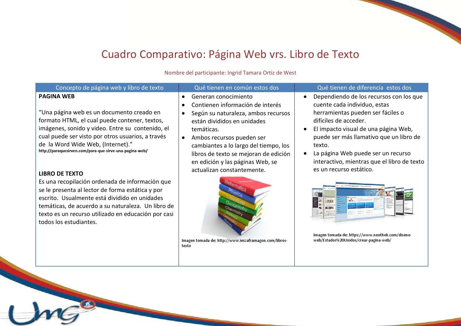 Cuadro Comparativo Tarea Individual Tema 2 Ingrid Ortiz By Ingrid