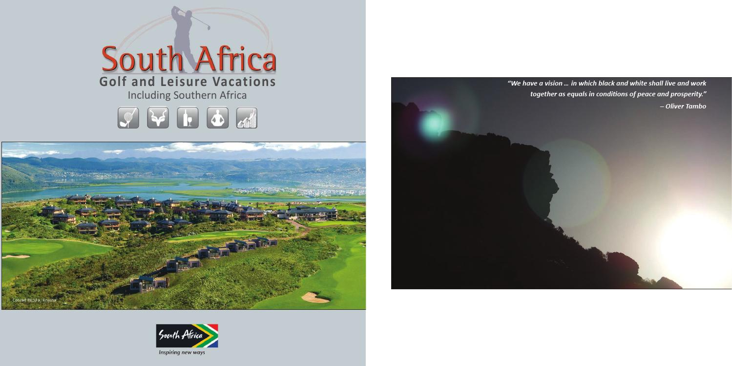 sa golf and leisure vacations 5th edition 2015 by sa golf and