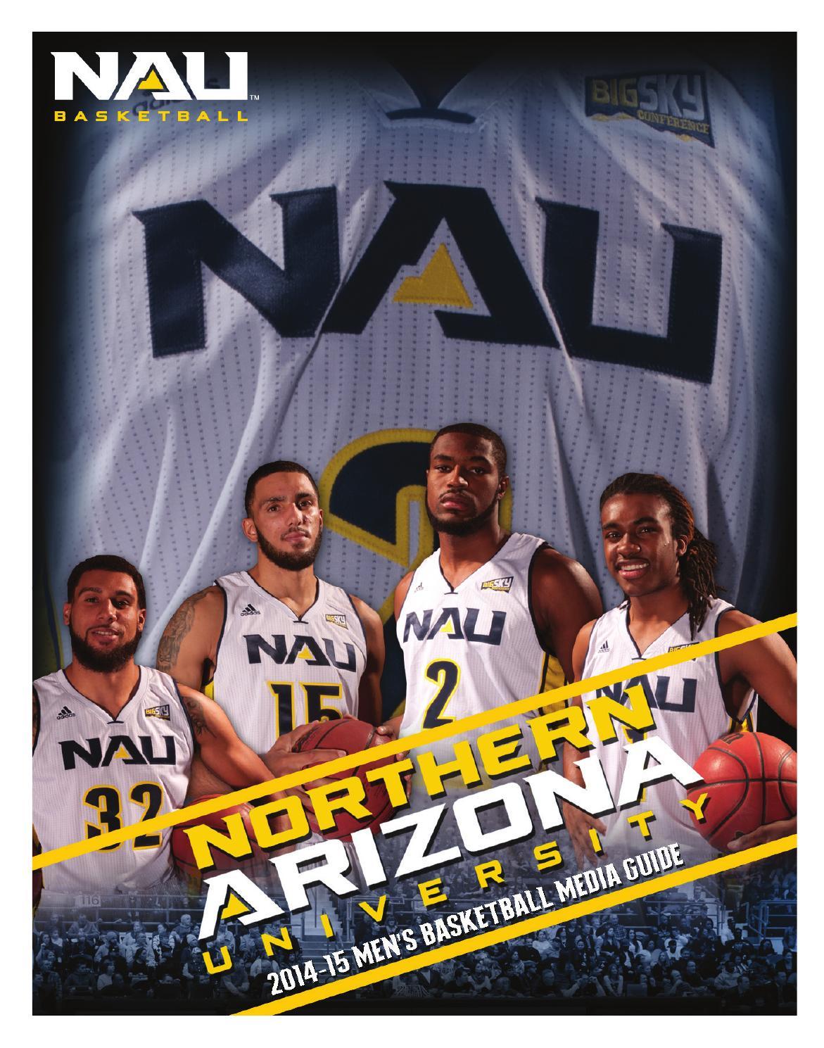 07d7d4a0d3b5 2014-15 NAU Men s Basketball Media Guide by NAU Athletics - issuu