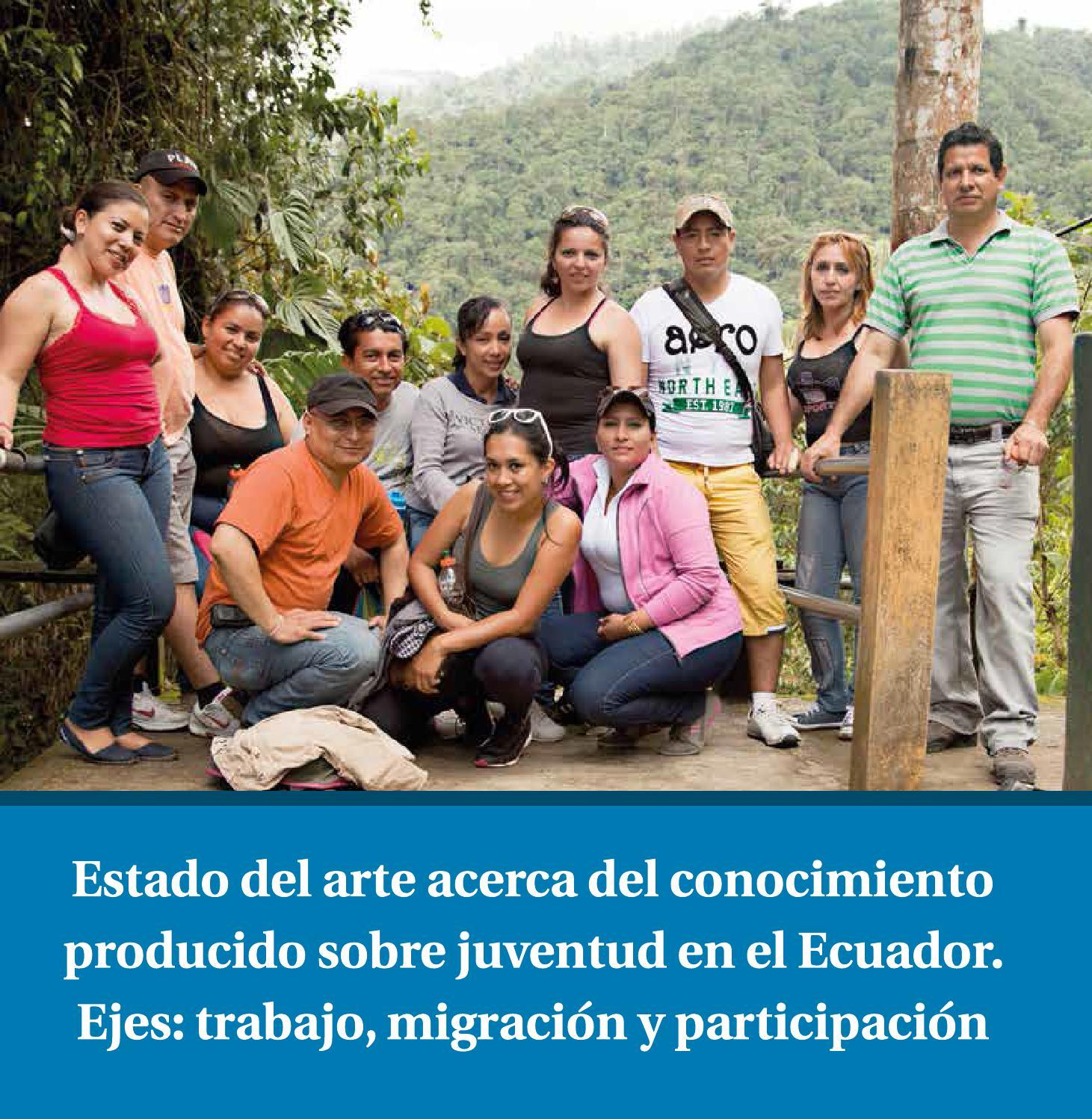 Juventud en el Ecuador by CNII - issuu