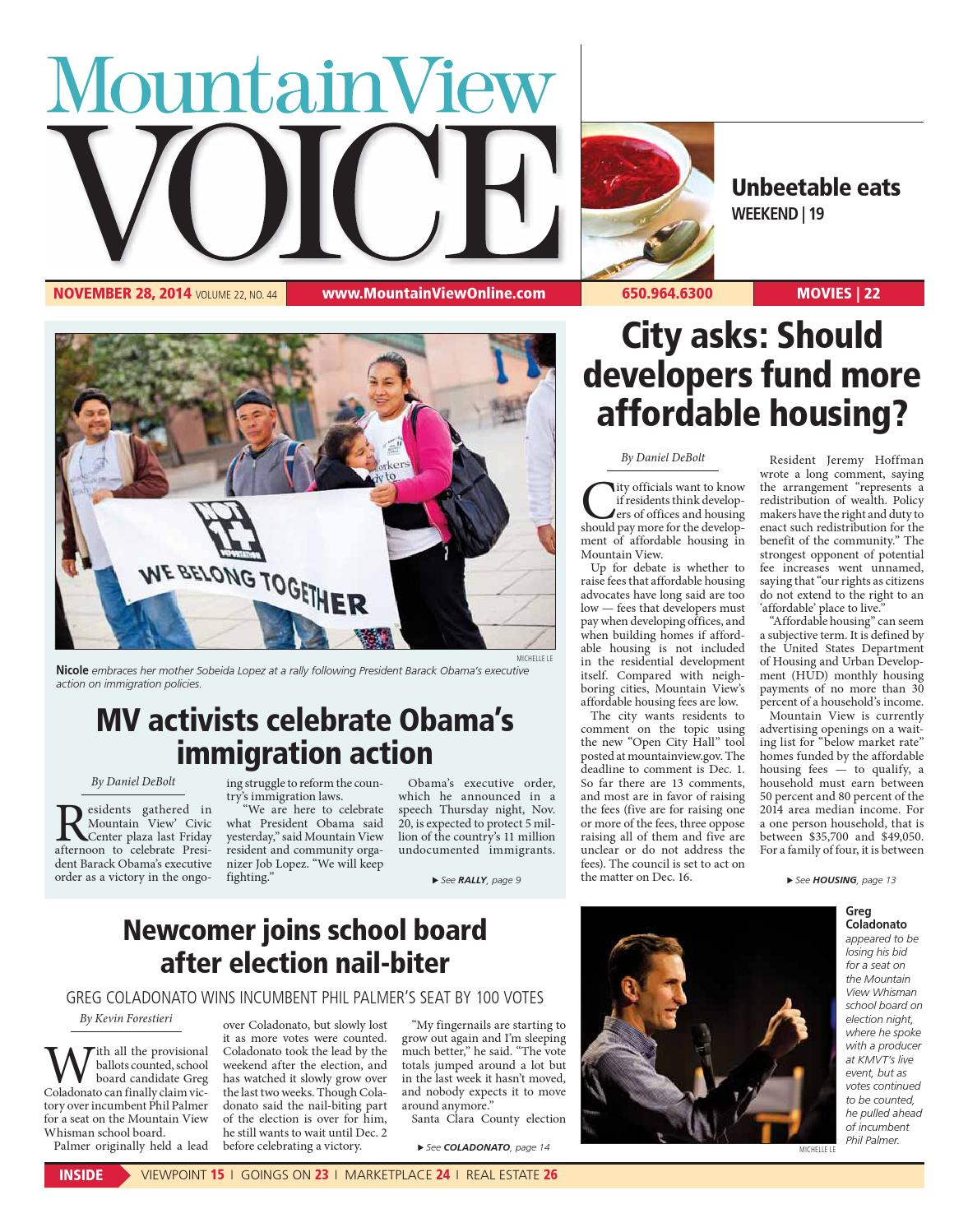 Mountain View Voice November 28, 2014 by Mountain View Voice - issuu