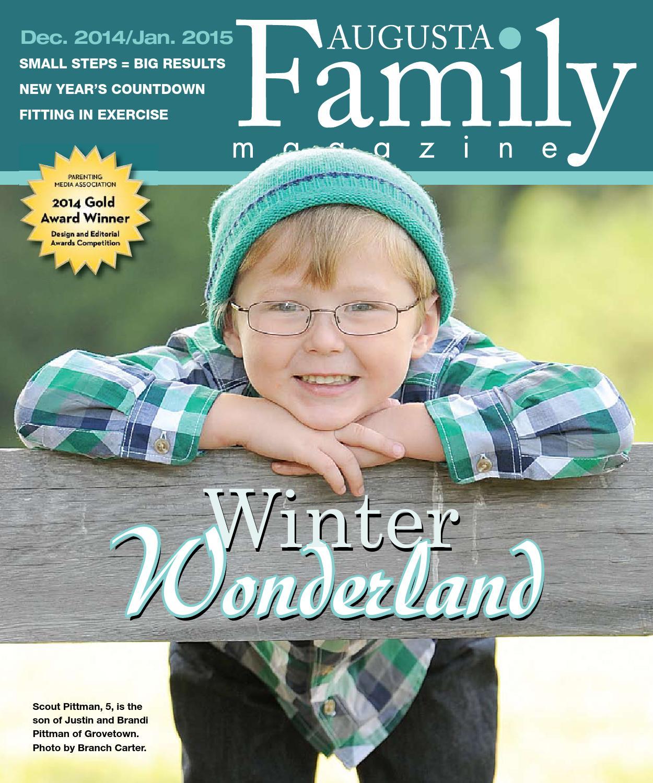 Augusta Family Magazine Dec  2014 - Jan  2015 by Augusta