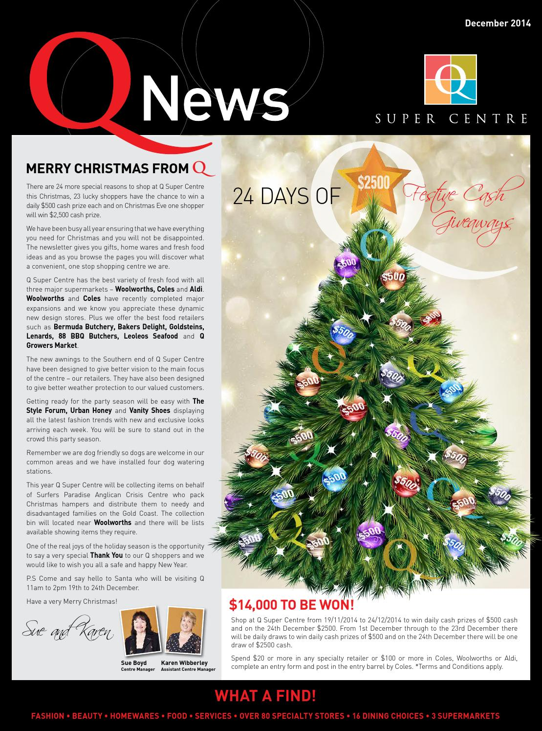 Merry Christmas from Q by Innuendo Advertising - issuu
