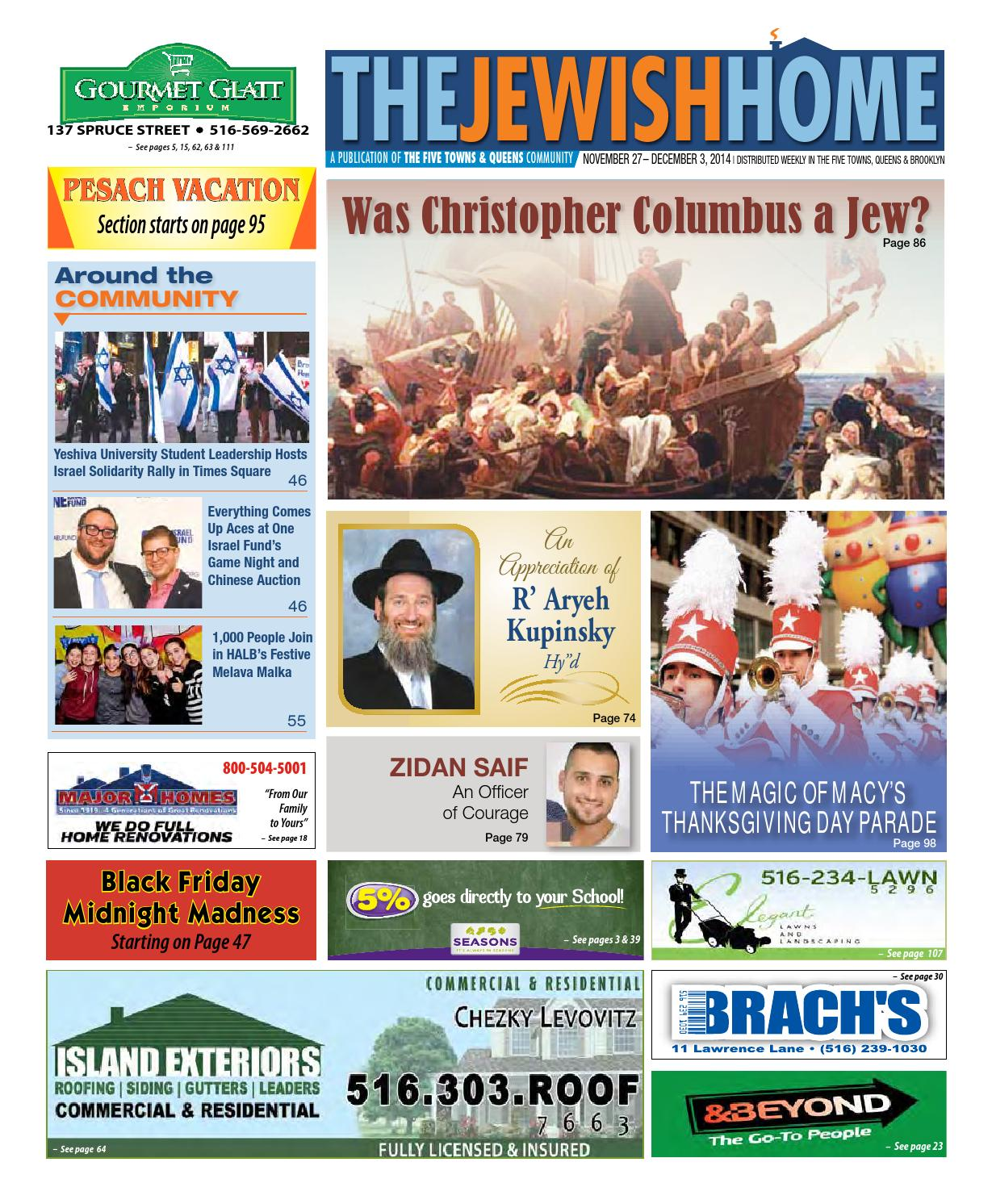 Five Towns Jewish Home 11-27-14 by Yitzy Halpern - issuu
