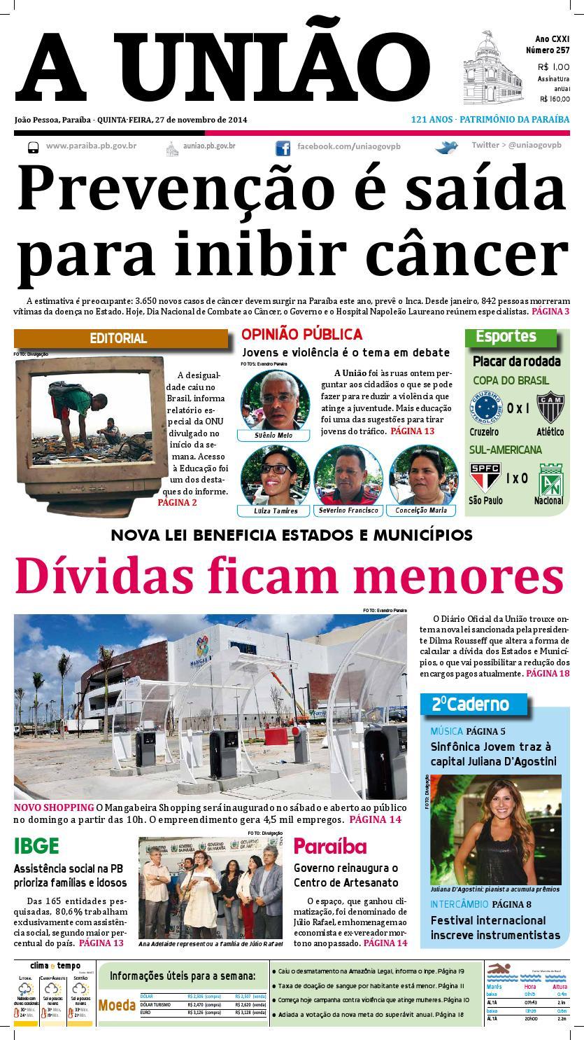 8a09256991 Jornal A União by Jornal A União - issuu