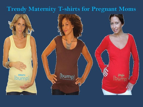 208dc6aa7 Trendy Maternity T-Shirts for Pregnant Moms