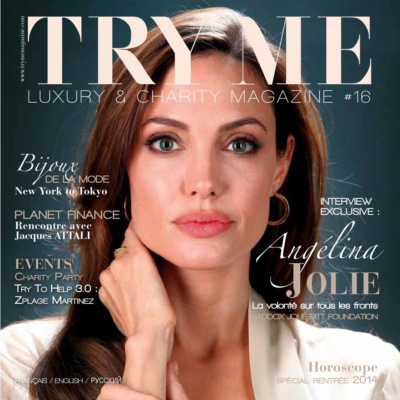 efd12c5c14ac09 TRY ME Luxury   Charity Magazine  16 by trymemagazine - issuu