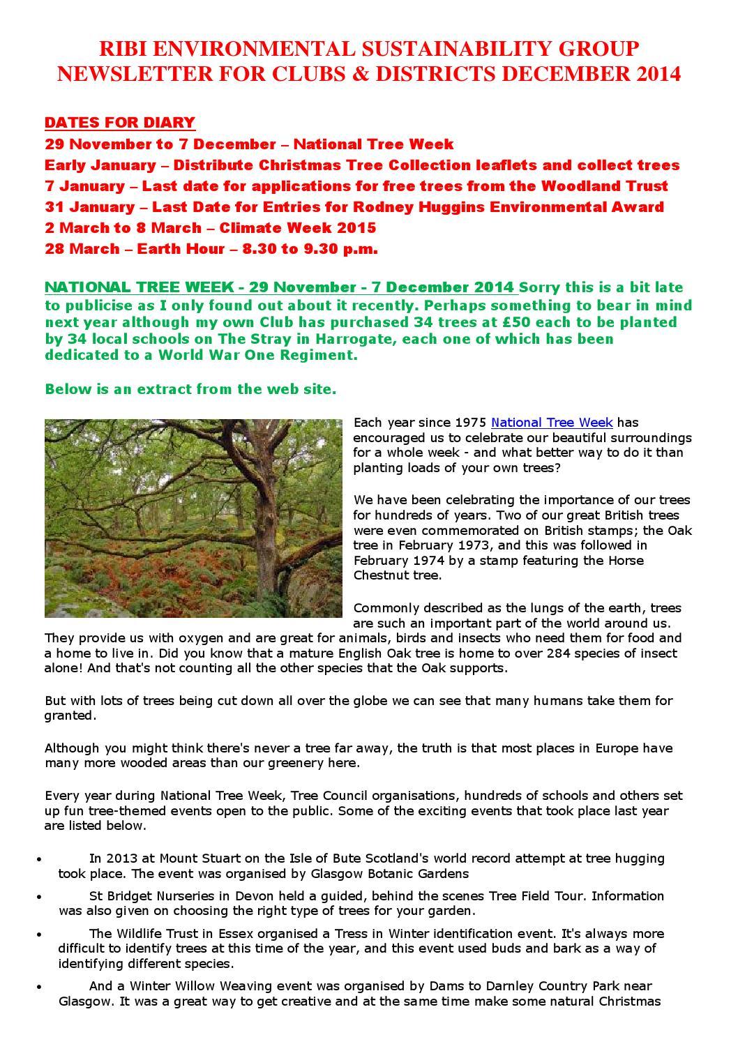 Environment newsletter december 2014 by James Lovatt Rotary - issuu