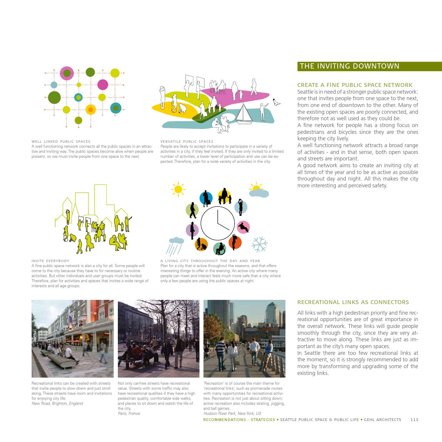 Seattle Public Space Public Life By Gehl Making Cities For