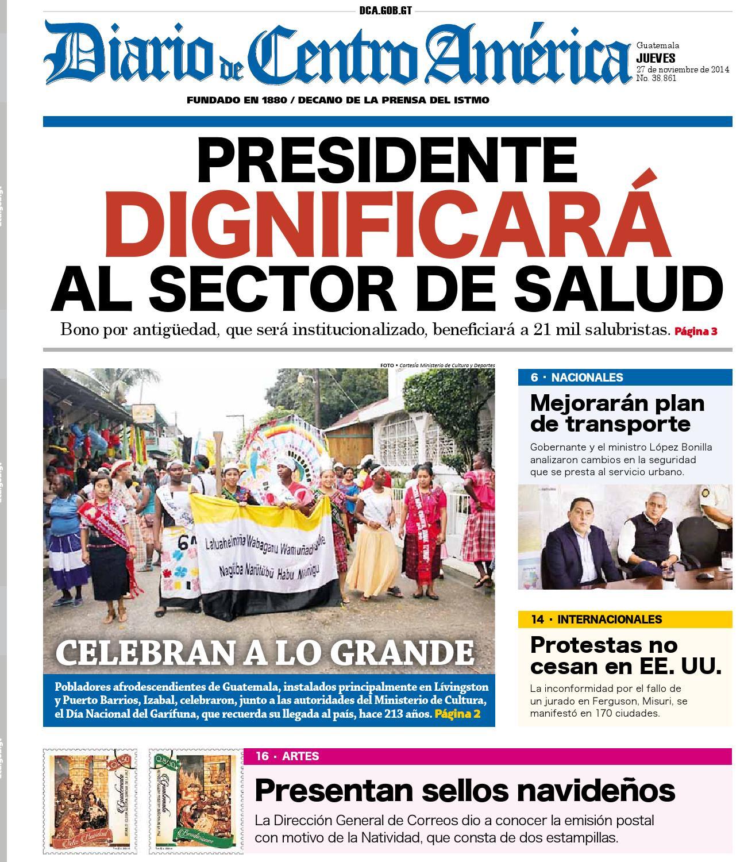 Diario de Centro América 27 de noviembre de 2014 by Diario de Centro ...