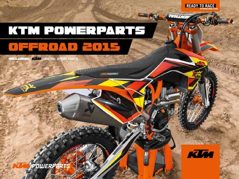 ktm powerparts offroad 2015 us by ktm group issuuktm powerparts offroad 2015 including