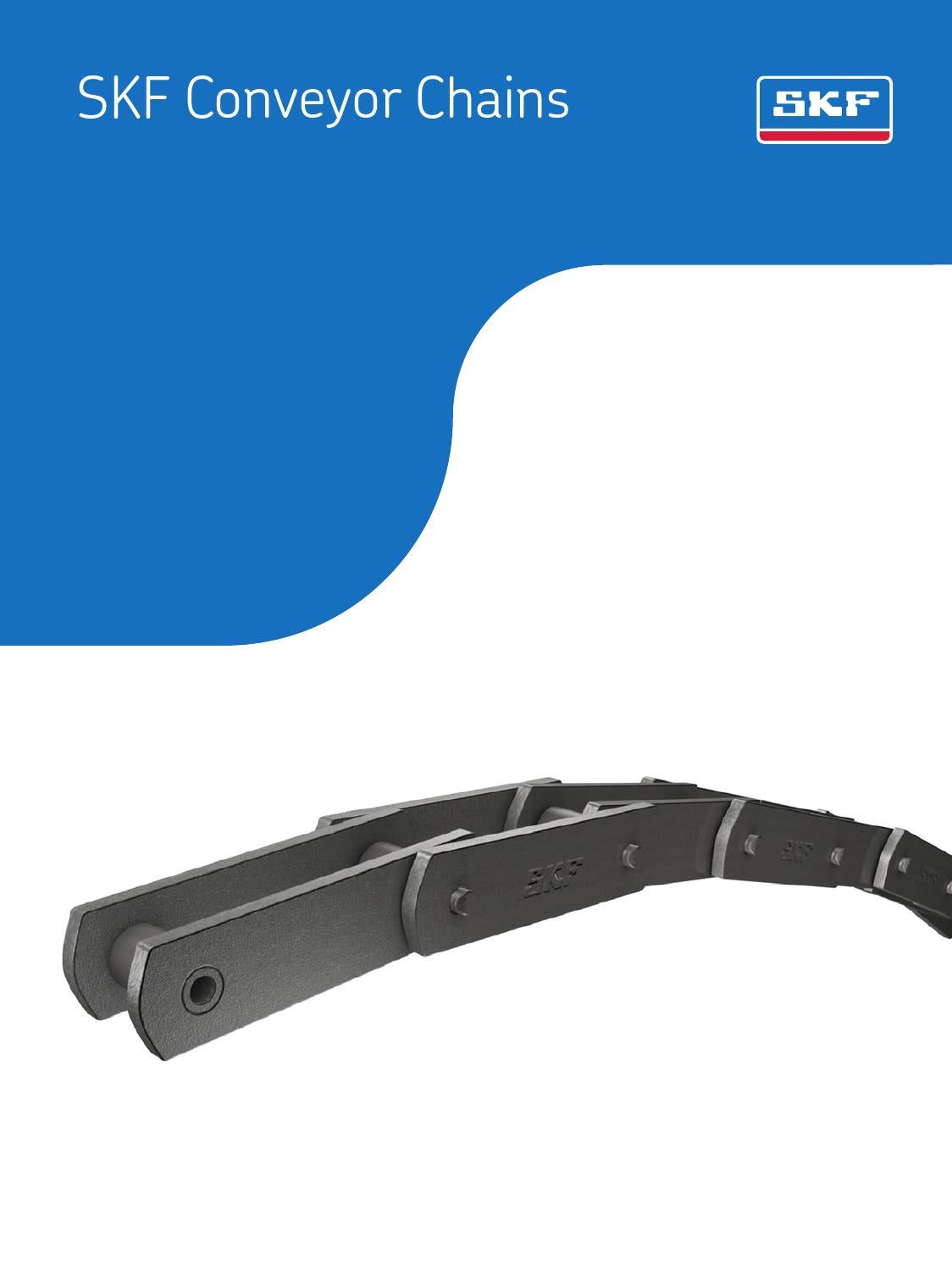 SKF 60-2X10FT ANSI Riveted Roller Chain