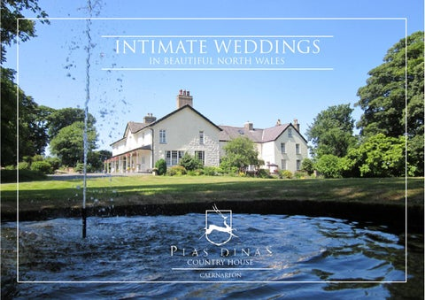 INTIMATE WEDDINGS IN BEAUTIFUL NORTH WALES