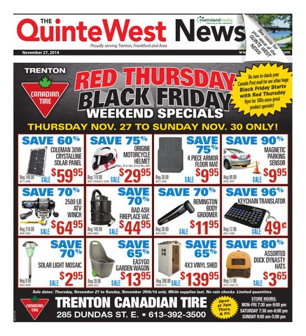 0121dbfd6 Quinte112714 by Metroland East - Quinte West News - issuu